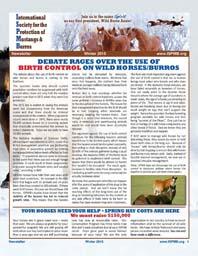 Read the Winter 2015 Newsletter