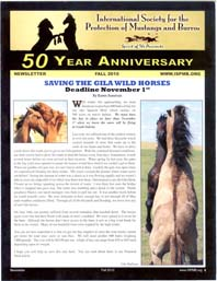 Read the Fall 2010 Newsletter