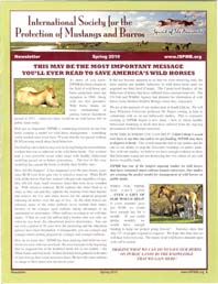 Read the Spring 2010 Newsletter