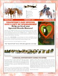 Read the February 2012 Newsletter